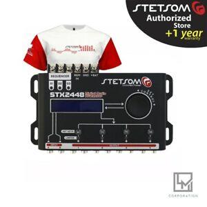 Stetsom Stx2448 Digital Audio Equalizer Processor Car Audio - Fast Delivery