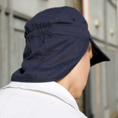 Légionnaire Casquette Chapeau Soleil UV Cou Protection 100/% coton homme femme chapeau été