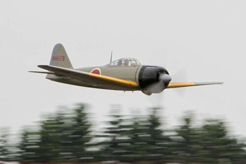 1/12 Scale Japanese WW-II Mitsubishi Zero Plans, Templates, Instructions 39ws