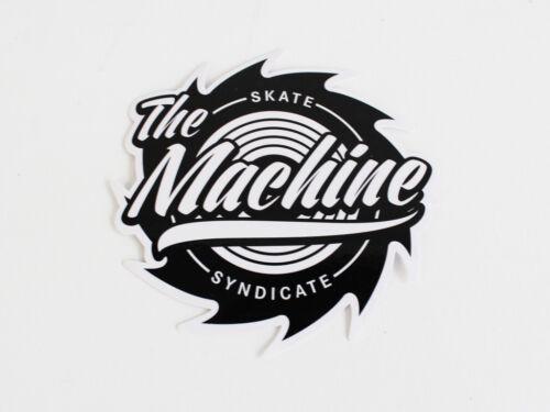 SKATE SYNDICATE 4 X Rollen 52x31 mm 99A Black Skateboard Wheels THE MACHINE