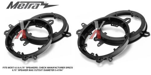 "Metra 82-8148 6/"" To 6.75 Front Speaker Adapters for Lexus /& Toyota Models"