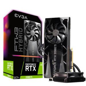 Details about EVGA GeForce RTX 2080 TI FTW3 ULTRA HYBRID GAMING,  11G-P4-2484-KR, 11GB GDDR6, R
