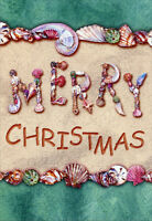 Merry Christmas Sea Shells 18 Warm Weather Boxed Christmas Cards