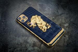 Apple iPhone 13 Pro Max 512GB Eastern Wisdom 24K Gold with Diamonds