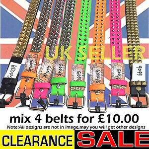 Clearance-offer-of-mix-conical-pyramid-studded-gothic-punk-adult-jean-wear-belts