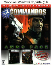 Commandos: Behind Enemy Lines + Beyond The Call Of Duty PC Game