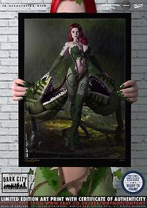 Poison-Ivy-Gotham-Dark-City-Comic-Art-Print-Series-200-Limited-Edition-Print