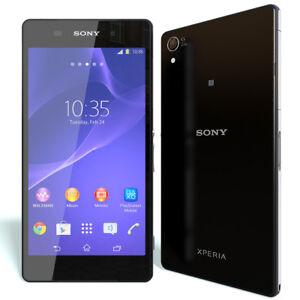 Sony-Ericsson-Xperia-Z2-D6503-16GB-5-2-034-Libre-TELEFONO-MOVIL-4G-LTE-NEGRO-Black