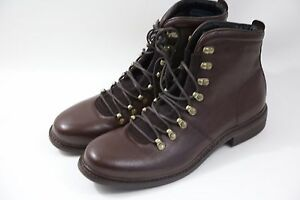 #8 Cole Haan Cranston Lace Up Hiking Boots Size 11 M MADE IN INDIA