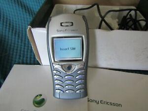 Sony Ericsson T68i-BLU E GRIGIO TELEFONO CELLULARE