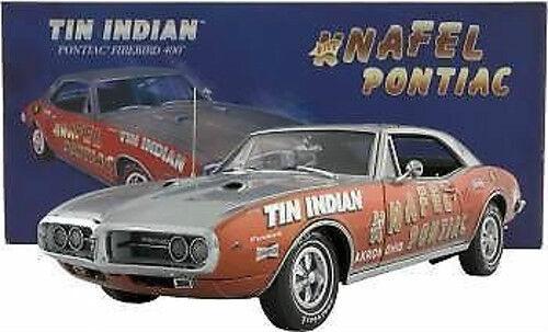 1 18 Exact Détail Knafel's Tin Indien Pontiac Firebird