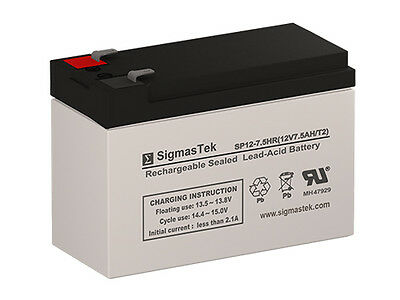 Replacement Battery Set for Powercom King Pro KIN-1200AP 12V 7.2Ah F2 Sealed Lead Acid SLA