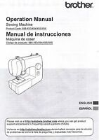 Brother Jx2517 Sewing Machine Users Guide Owners Instruction Manual Book