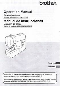 Brother PS1000 Sewing Machine User Guide Owner Operating Instruction Manual Book
