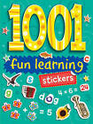 1001 Stickers: Fun Learning by Duck Egg Blue (Paperback, 2010)
