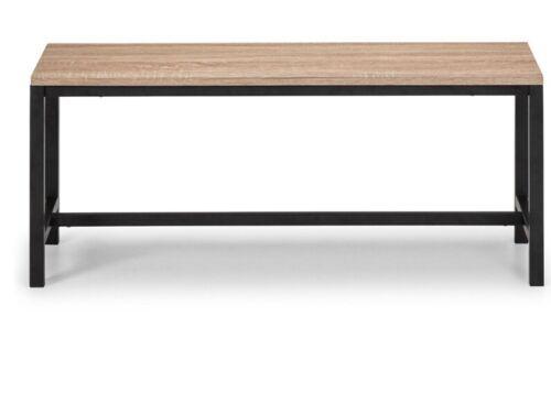 Julian Bowen Tribeca Bench H45 x W36 x D110cm
