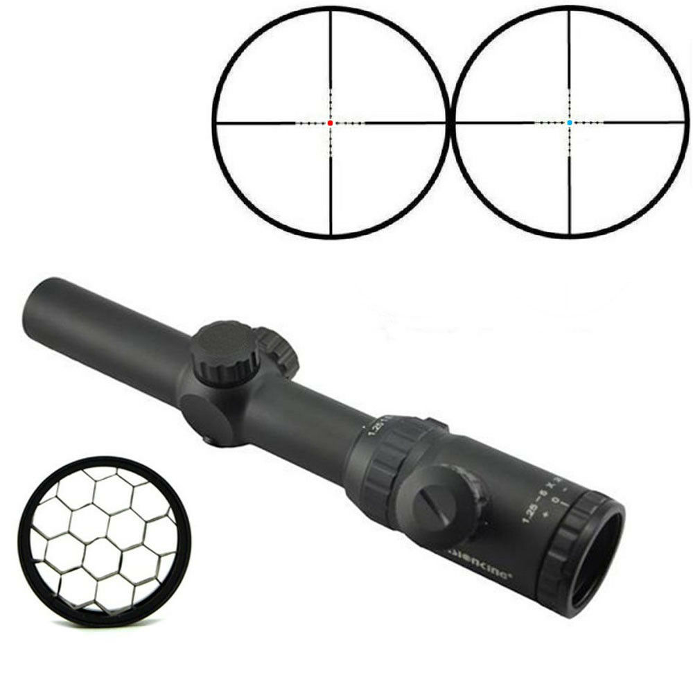 Visionking 1.25-5x26 Rifle scope Hunting 30mm Mil dot tactical 223+Killflash tactical dot 22ad53