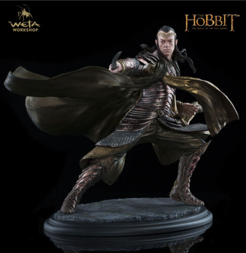 NOW THE HOBBIT THE BATTLE OF THE FIVE ARMIE LORD ELROND AT DOL GULDUR WETA