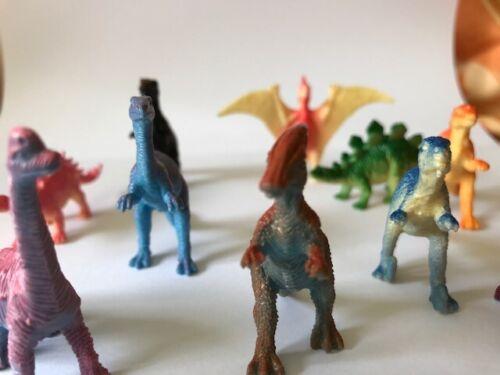 Kindergeburtstag Kinderparty 7 cm im Set 10 Dinosaurier Dino ca Mitgebsel