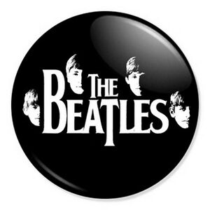 Image Is Loading The Beatles Logo 25mm 1 034 Pin Badge