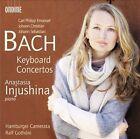 C.P.E. Bach, J.C. Bach, J.S. Bach: Keyboard Concertos (CD, Feb-2013, Ondine)