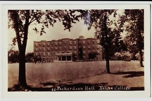 1930-KEUKA-COLLEGE-New-York-NY-Real-Photo-RPPC-Postcard-RICHARDSON-HALL