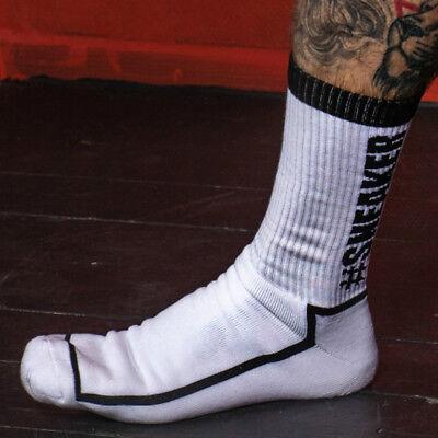 #SNEAKERPORN Socken weiß//feuerrot NEU OVP