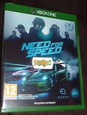 NEED FOR SPEED 2016 XBOX ONE XB1 NEW SEALED