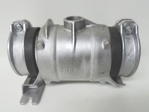 """with bolt and nut QTY 2 NEW Custom Aluminium Coupling 100mm 4/"""" Locking Ring"""