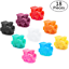 Gejoy 18 Pieces Train Markers Mexican Dominoes Train Markers Accessories for