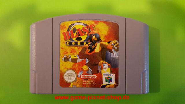 Blast Corps (PAL) Nintendo n64 collection