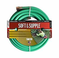 Swan Soft And Supple Snss58025 5/8-inch X 25-foot Green Garden ... Free Shipping