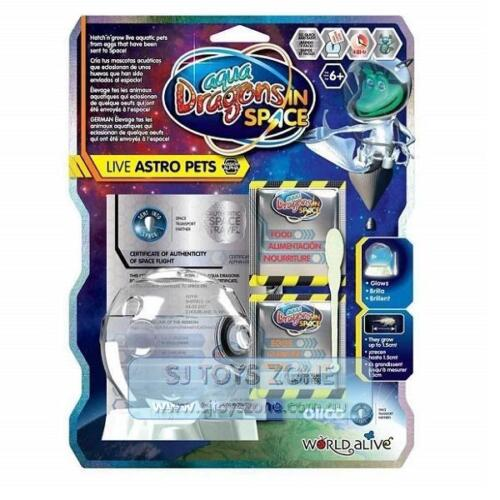 Aqua Dragons In Space - Live Astro Pets Hatch & Grow Live Aquatic Pet for Kids