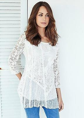 Hobbs Cecily Ivory Blouse RRP £79. Various Sizes