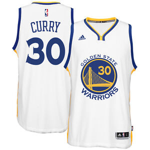 hot sales 6ef41 9ad78 Details about Adidas Men's Golden State Warriors Stephen Curry Swingman  Home Jersey Replica