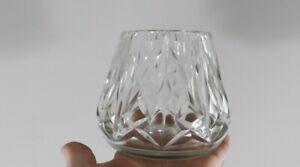 Doux Baccarat, Vase Pyramidal En Cristal Taillé, époque Début Xx ème Faire Sentir à La Facilité Et éNergique