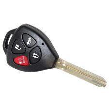 HQRP 4 botones Carcasa para llave Toyota Camry 2007, 2008, 2009, 2010, 2011