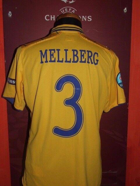 MELLBERG SWEDEN EURO 2012 MAGLIA SHIRT CALCIO FOOTBALL MAILLOT JERSEY SOCCER
