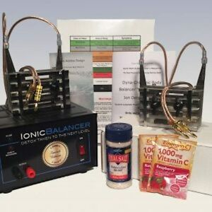 Details about Dyna Chi Special Edition Ionic Detox Cleanse Foot Spa, 2  Ionizer Arrays!