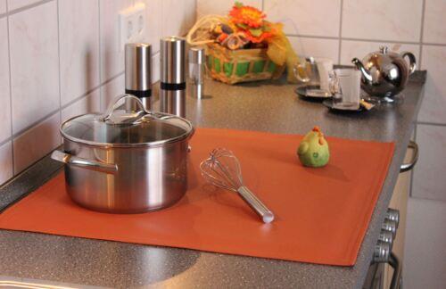 Ceranfeld Abdeckung Kunstleder 47x54 Herdabdeckung Cooking Plaid Eigene Creation
