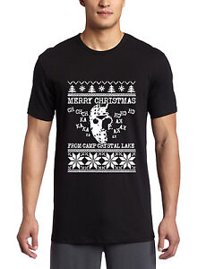 friday 13th tshirt christmas sweater hoodie t shirt horror jason ...