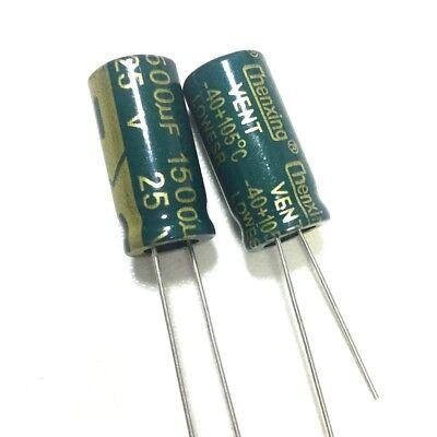 20PCS 16V 1500uF 16Volt 1500MFD Electrolytic Capacitor 10×20