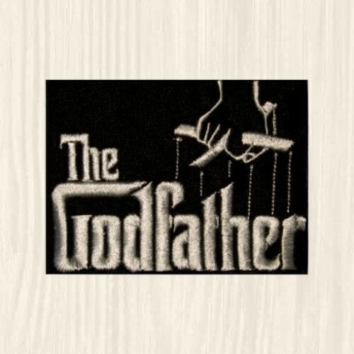 The Godfather Patches Don Vito Corleone Act Like a Man Horse Head Embroidered