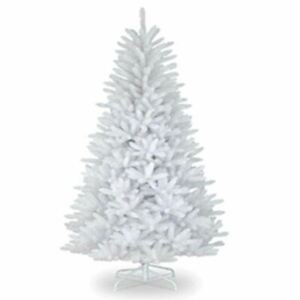 4ft-White-Artificial-Christmas-Tree-Traditional-Bushy-Xmas-Home-Decoration-120cm