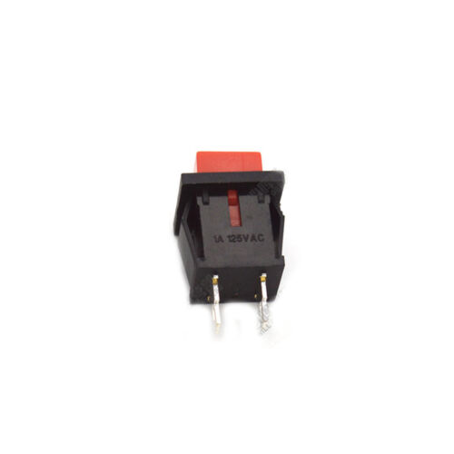 10PCS DS-430 No-Lock Switch 1A 250V Self Reset Switch Normally Closed Red