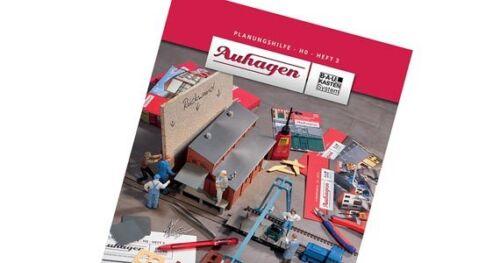 Auhagen 80003 planification aide 3 au système modulaire nouveauté 2014 neuf dans sa boîte ~