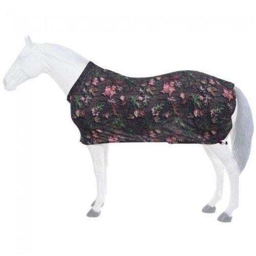 Tough-1 Full Lycra Sheet Tough Timber Fun Print Size Medium Horse Tack 34-7500