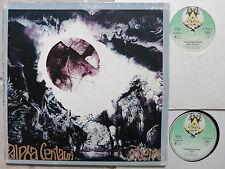 TANGERINE DREAM  Alpha Centauri + Atem 2-LP Rare German Green Virgin Twin Label