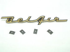 "1957 Chevrolet  ""Bel Air""  Dash Script Gold and Black Show Quality"