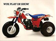 Honda 200x 3-wheeler 18 x 24 poster